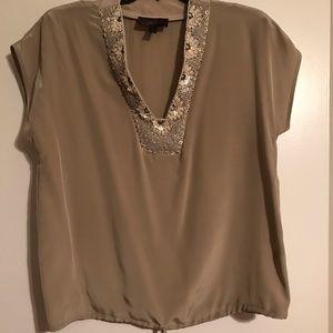Akiko silk blouse